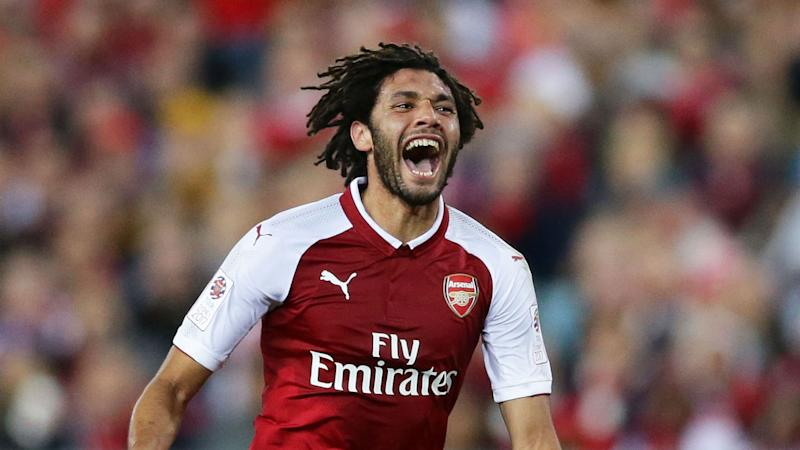 Mohamed Elneny scoops Uefa Europa League Player of the Week prize