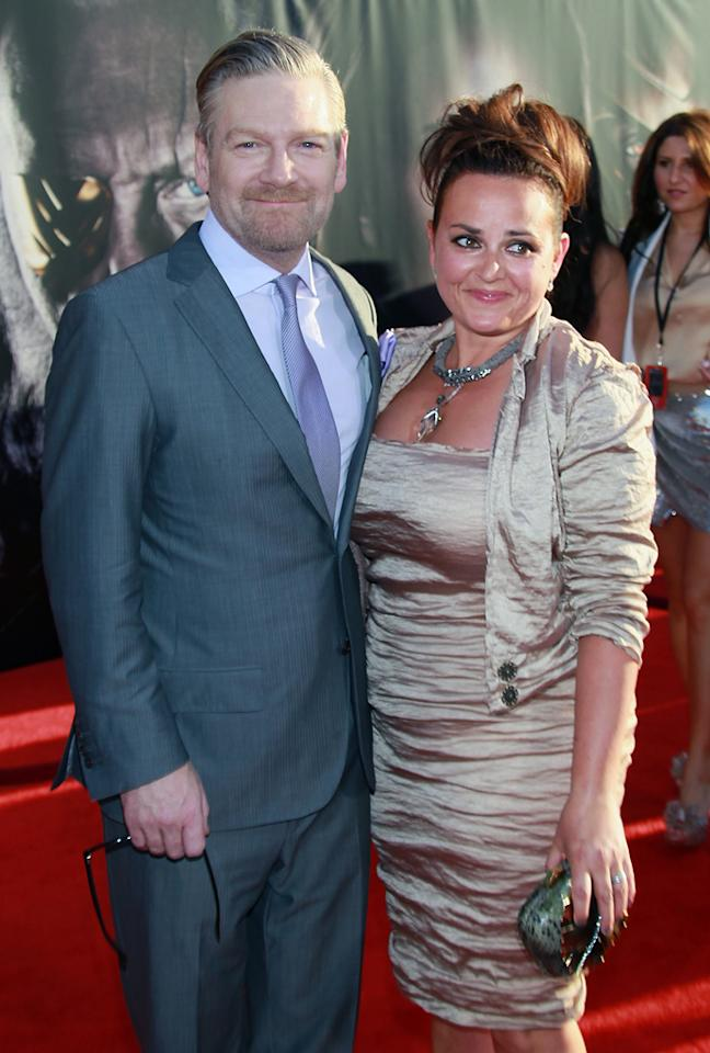 "<a href=""http://movies.yahoo.com/movie/contributor/1800019957"">Kenneth Branagh</a> and wife Lindsay attend the Los Angeles premiere of <a href=""http://movies.yahoo.com/movie/1810026342/info"">Thor</a> on May 2, 2011."