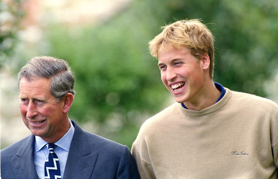Prince William Attends A Photocall At Highgrove To Announce Plans For The First Part Of His Gap Year. . (Photo by Mark Cuthbert/UK Press via Getty Images)
