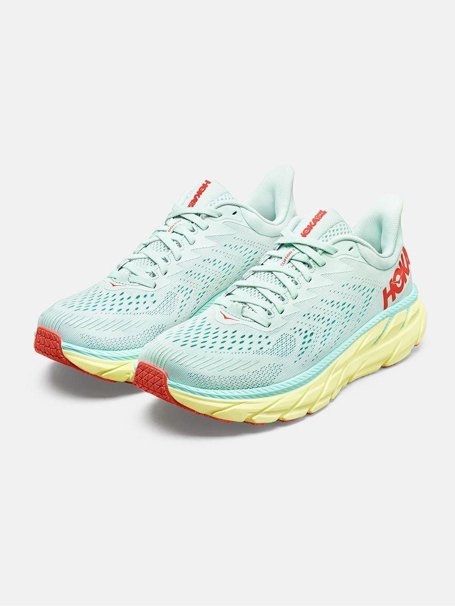 <p>These <span>Hoka Clifton 7</span> ($130) are so cushioned and feel like you're wearing moon boots, in the best way possible. If you need lots of support or are doing jumping or dance cardio, these are the shoes for you.</p>