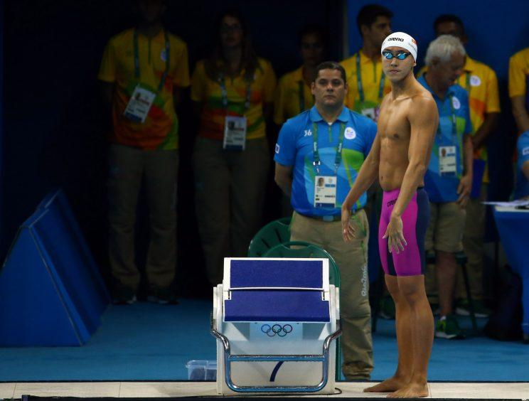 Quah Zheng Wen at the 2016 Rio Olympics. Photo: Getty Images