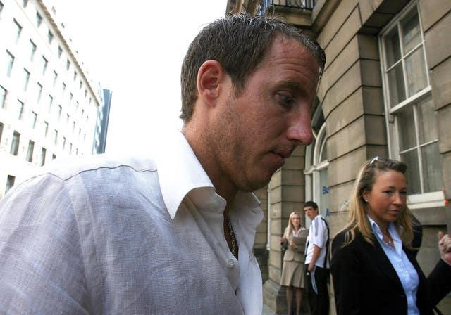 In 2006 Bowyer was fined £600 and ordered to pay £1,000 costs after pleading guilty at Newcastle Magistrates Court to using threatening behaviour ( Owen Humphrys/PA).