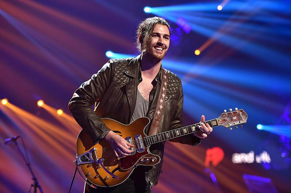 """<p>Last year, the Irish singer's """"Take Me to Church"""" was nominated for Song of the Year. This year, with the release of his debut album, he finally became eligible for Best New Artist. Alas, no nomination. The likely problem: Hozier hasn't landed another pop hit since """"Take Me to Church,"""" raising the possibility, at least, that he could be a one-hit wonder. Worse, Hozier was passed over for a nom for Best Rock Album.</p><p>Credit: John Shearer/Getty Images</p>"""