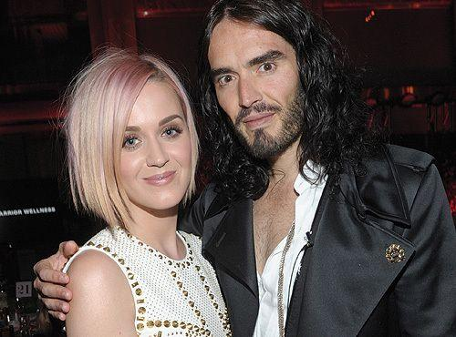 Katy Perry and Russell Brand a few weeks before announcing their divorce. Credit: WireImage