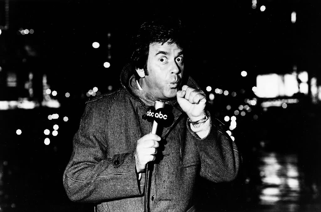 Dick Clark in Times Square (1970's)