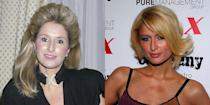 <p>By 26, Kathy was married and the mother of two girls, Paris and Nicky. Here's a look at what Paris looked like at the same age, when she was still very much a regular fixture in the tabloids.</p>