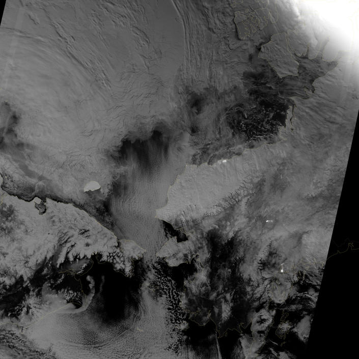 Scientists watched the Arctic with particular interest in the summer of 2012, when Arctic sea ice set a new record low. The behavior of sea ice following such a low extent also interests scientists, but as Arctic sea ice was advancing in the autumn of 2012, so was polar darkness. (NASA)