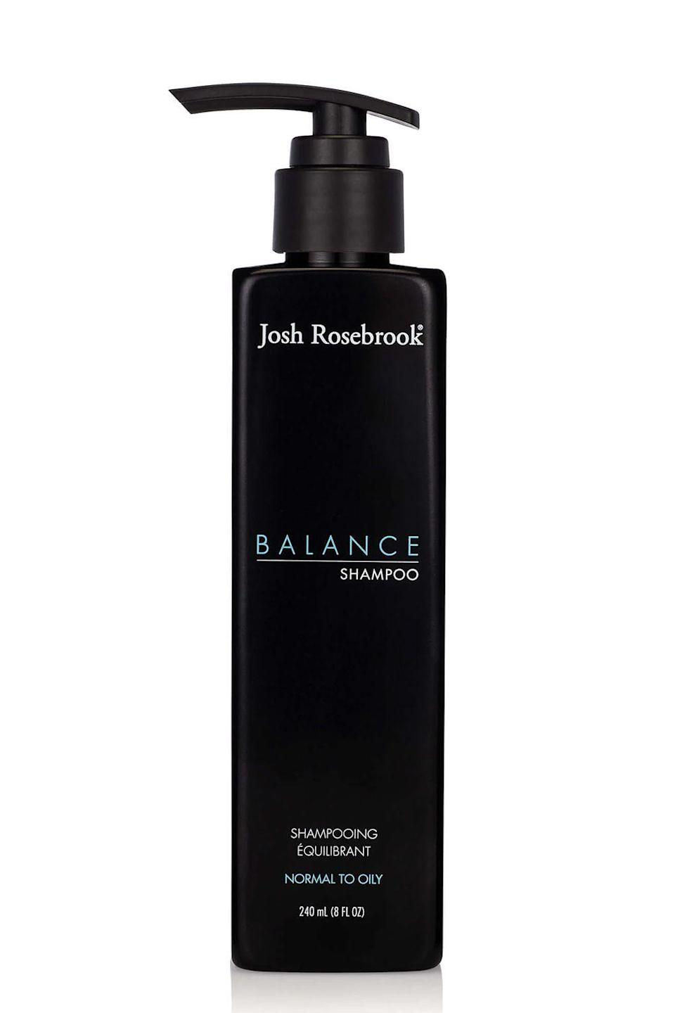 "<p><strong>Josh Rosebrook</strong></p><p>credobeauty.com</p><p><strong>$33.00</strong></p><p><a href=""https://go.redirectingat.com?id=74968X1596630&url=https%3A%2F%2Fcredobeauty.com%2Fproducts%2Fjosh-rosebrook-balance-shampoo&sref=https%3A%2F%2Fwww.cosmopolitan.com%2Fstyle-beauty%2Fbeauty%2Fg22740377%2Forganic-shampoo%2F"" rel=""nofollow noopener"" target=""_blank"" data-ylk=""slk:Shop Now"" class=""link rapid-noclick-resp"">Shop Now</a></p><p>I have super <a href=""https://www.cosmopolitan.com/style-beauty/beauty/a32393572/oily-hair-coronavirus-stress/"" rel=""nofollow noopener"" target=""_blank"" data-ylk=""slk:oily hair"" class=""link rapid-noclick-resp"">oily hair</a>, and this is truly the only organic shampoo I've found that keeps all my greasiness in check. It uses aloe vera, gentle cleansers, and organic herbs (like nettle, ginseng, and oregano) to <strong>remove buildup and dirt while regulating your scalp's oil production</strong>. The result is healthy hair and a balanced scalp.</p>"