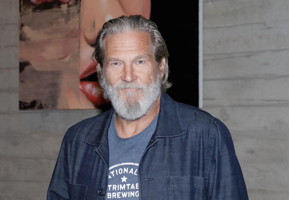 Jeff Bridges attends a conversation, Q&A and book signing for his new book 'Jeff Bridges: Pictures Vol. 2' at NeueHouse Los Angeles on October 15, 2019 in Hollywood, California. (Photo by Tibrina Hobson/Getty Images)