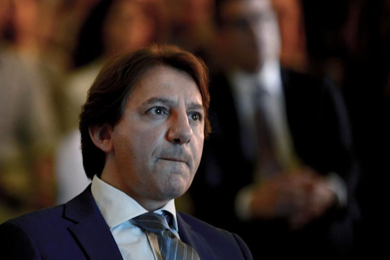 "ROME, ITALY - JUNE 18: The President of the National Social Security Institute (INPS) Pasquale Tridico, attends the conference on ""Blockchain enabling factor in the ecosystems of the Public Administration"",on June 18, 2019 in Rome, Italy. (Photo by Simona Granati - Corbis/Getty Images,) (Photo: Simona Granati - Corbis via Getty Images)"