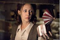 """<p><strong>IMDb says:</strong> Paranormal investigators Ed and Lorraine Warren work to help a family terrorised by a dark presence in their farmhouse.</p><p><strong>We say: </strong>There's nothing scarier than seeing, """"Based on true events"""", at the beginning of a horror film.</p>"""