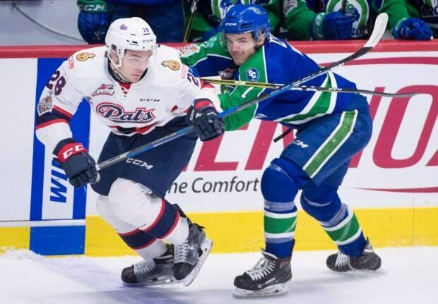 The Regina Pats Hockey Club has been acquired by the Brandt Group of Companies. (Jonathan Hayward/The Canadian Press - image credit)