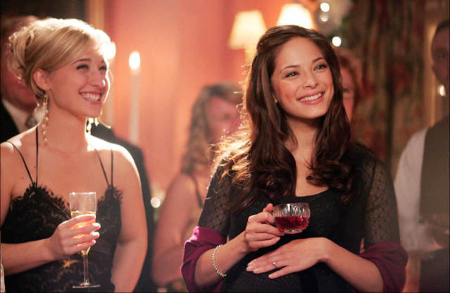 Allison Mack and Kristin Kreuk (The CW)