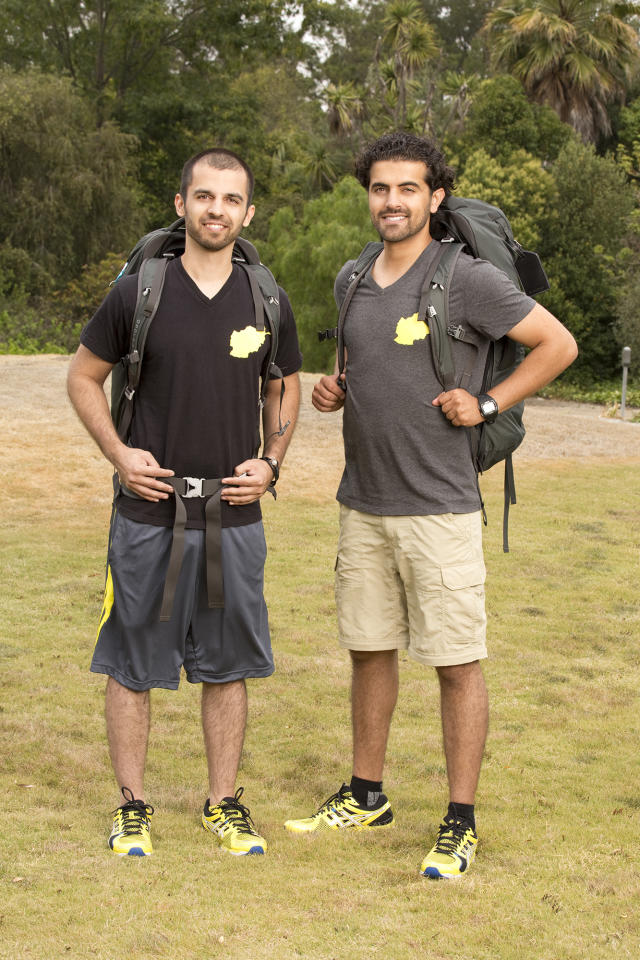 "Cousins Leo Temory and Jamal Zadran compete in a sprint around the globe for $1 million dollars on the new season of ""The Amazing Race."""