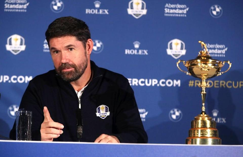 European Ryder Cup captain Padraig Harrington will finalise his team this week (Adam Davy/PA) (PA Archive)
