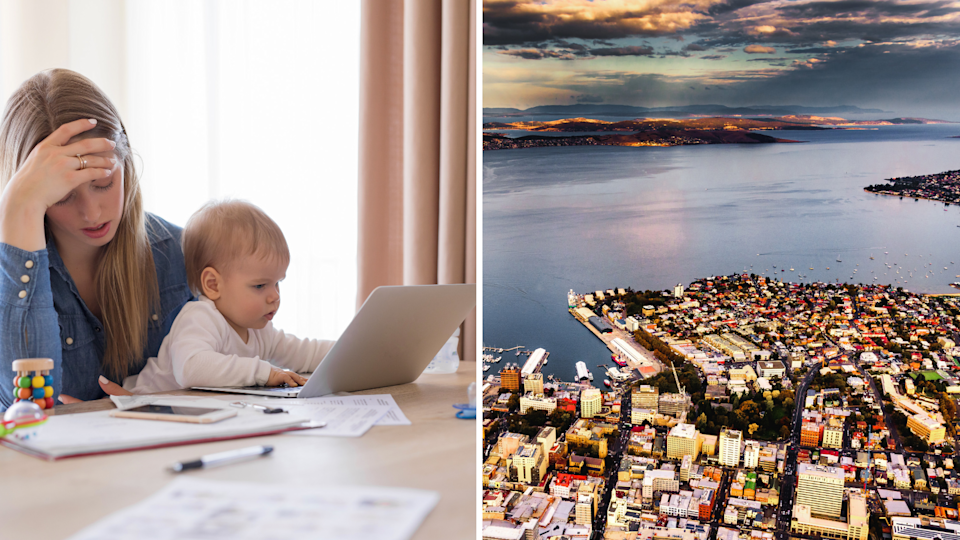 Renters in Hobart are facing some serious challenges. Images: Getty