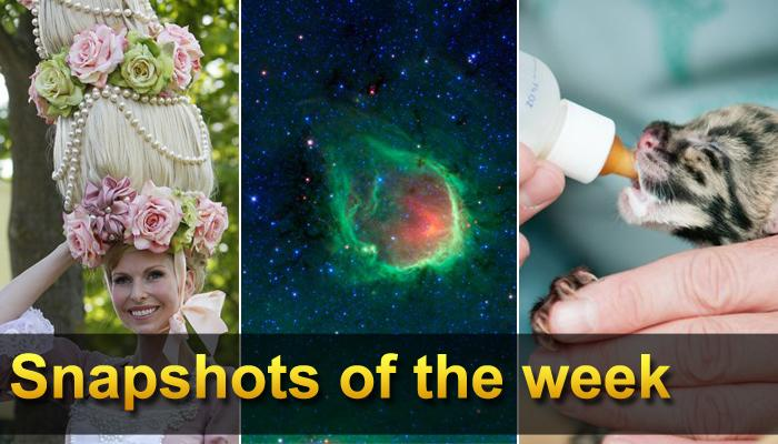 This weekly collection includes eye-catching images from around the world.