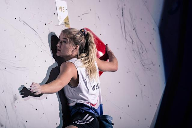 Shauna Coxsey in action (Credit: Jake Thompson/Red Bull Content Pool)
