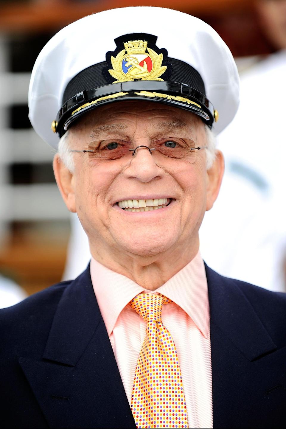 """<p>Actor Gavin MacLeod of <strong>The Love Boat</strong> and <strong>The Mary Tyler Moore Show</strong> died on May 29 at age 90. Gavin's nephew, Mark See, <a href=""""https://www.nytimes.com/2021/05/29/arts/television/gavin-macleod-dead.html"""" class=""""link rapid-noclick-resp"""" rel=""""nofollow noopener"""" target=""""_blank"""" data-ylk=""""slk:confirmed his death"""">confirmed his death</a> to <strong>The New York Times</strong> and said the cause was unknown. </p>"""
