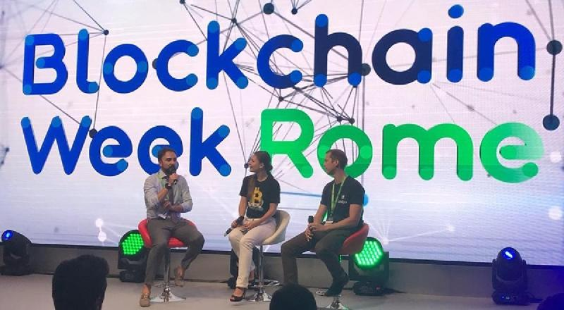blockchain week roma 2020