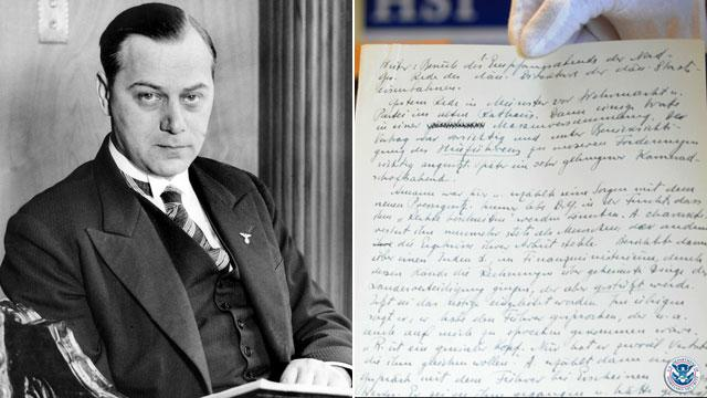 Long-Lost Diary of Nazi Alfred Rosenberg Expected to Bring 'New Insight' Into Hitler's Inner Circle