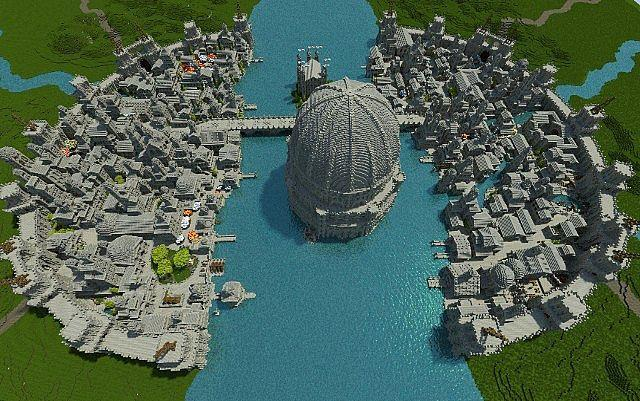 Check Out This Epic Minecraft Lord of the Rings World