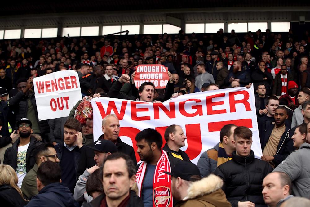 Call for Arsenal to step down as manager continue to persist (PA Wire/PA Images)