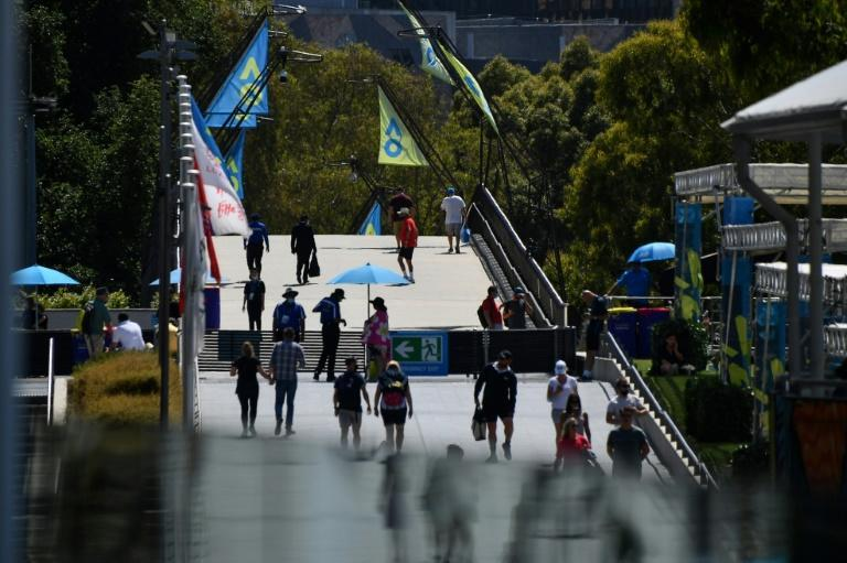 The Australian Open is the first Covid-era Grand Slam to welcome large numbers of fans