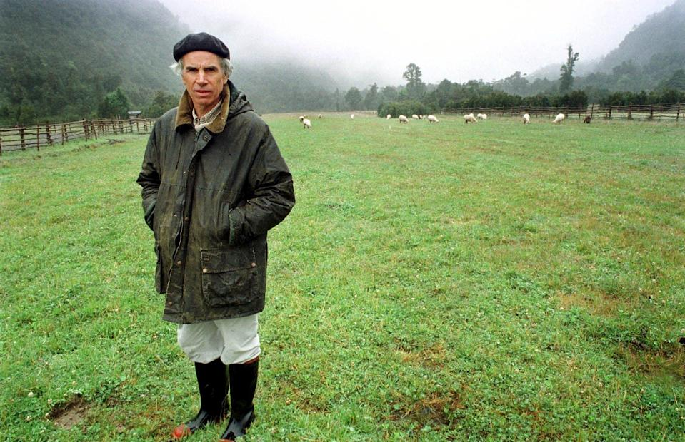 Millionaire businessman and conservationist Douglas Tompkins, co-founder of The North Face, who died in 2015