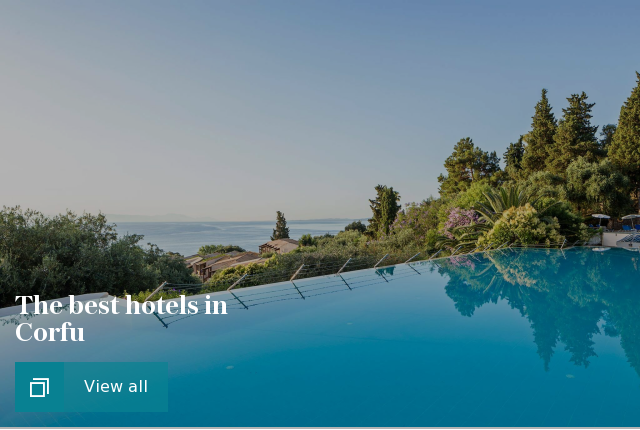 The best hotels in Corfu