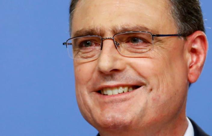 FILE PHOTO: FILE PHOTO: Swiss National Bank (SNB) Chairman Jordan addresses a news conference in Bern