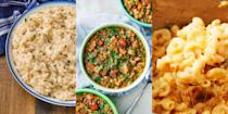 """<p>There's no denying just how much you can make with an <a href=""""https://www.delish.com/uk/cooking/recipes/g35117026/instant-pot-recipes/"""" rel=""""nofollow noopener"""" target=""""_blank"""" data-ylk=""""slk:Instant Pot"""" class=""""link rapid-noclick-resp"""">Instant Pot</a> (especially in the <a href=""""https://www.delish.com/uk/cooking/recipes/g33992596/easy-vegetarian-recipes/"""" rel=""""nofollow noopener"""" target=""""_blank"""" data-ylk=""""slk:vegetarian"""" class=""""link rapid-noclick-resp"""">vegetarian</a> department), we're talking <a href=""""https://www.delish.com/uk/cooking/recipes/a30130882/instant-pot-lentil-soup/"""" rel=""""nofollow noopener"""" target=""""_blank"""" data-ylk=""""slk:Lentil Soup"""" class=""""link rapid-noclick-resp"""">Lentil Soup</a>, <a href=""""https://www.delish.com/uk/cooking/recipes/a30412948/instant-pot-mac-cheese-recipe/"""" rel=""""nofollow noopener"""" target=""""_blank"""" data-ylk=""""slk:Mac & Cheese"""" class=""""link rapid-noclick-resp"""">Mac & Cheese</a> and <a href=""""https://www.delish.com/uk/cooking/recipes/a30242506/instant-pot-risotto/"""" rel=""""nofollow noopener"""" target=""""_blank"""" data-ylk=""""slk:Risotto"""" class=""""link rapid-noclick-resp"""">Risotto</a>. What's more, you can make a range of side dishes, too (<a href=""""https://www.delish.com/uk/cooking/recipes/a30686758/instant-pot-mashed-potatoes/"""" rel=""""nofollow noopener"""" target=""""_blank"""" data-ylk=""""slk:Mashed Potatoes"""" class=""""link rapid-noclick-resp"""">Mashed Potatoes</a>, <a href=""""https://www.delish.com/uk/cooking/recipes/a30774757/instant-pot-rice-recipe/"""" rel=""""nofollow noopener"""" target=""""_blank"""" data-ylk=""""slk:Rice"""" class=""""link rapid-noclick-resp"""">Rice</a>), to go along with your tasty veggie creations. But, if you're struggling for some inspiration, we've rounded up our favourite vegetarian Instant Pot recipes for you to try now.</p>"""