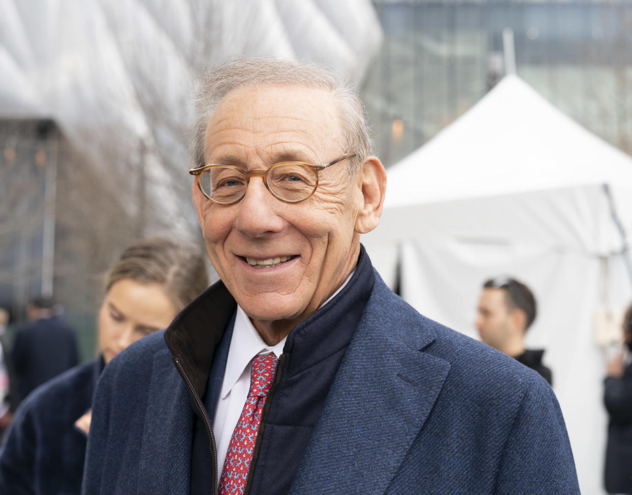 HUDSON YARDS, NEW YORK, UNITED STATES - 2019/03/15: Hudson Yards is lagest private development in New York. Chairman of Related Companies Stephen Ross attends opening day at Hudson Yards of Manhattan. (Photo by Lev Radin/Pacific Press/LightRocket via Getty Images)