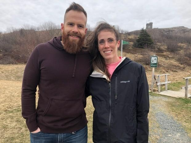 Nick and Jennifer Cherniwchan hope others will follow in their footsteps and collect trash on the trails.