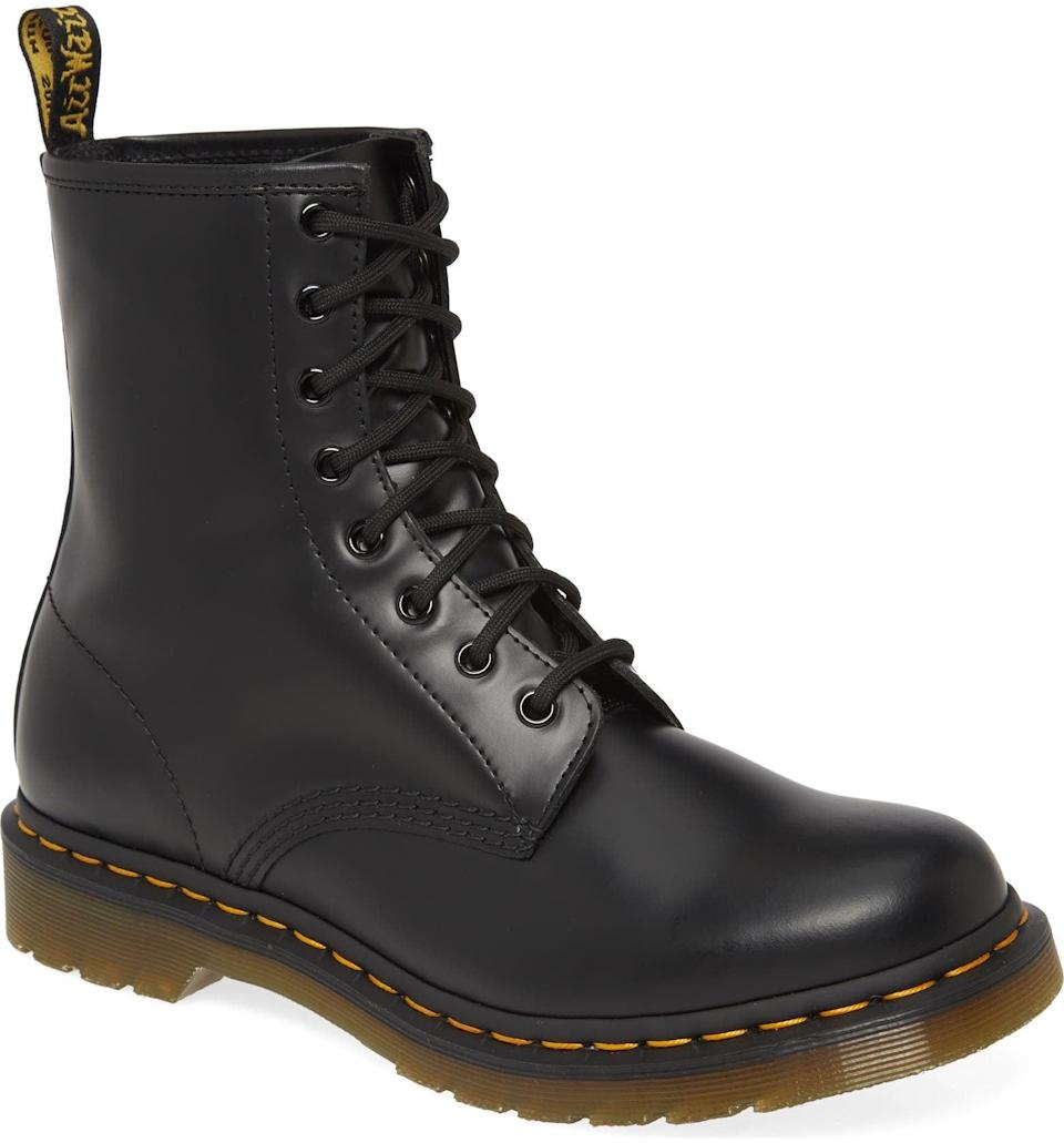 <p>If you're a fan of chunky boots, then you probably already own a pair of Dr. Martens boots. This <span>Dr. Martens '1460 W' Boot</span> ($150) will make a great addition to your everyday closet, and it's super versatile. </p>