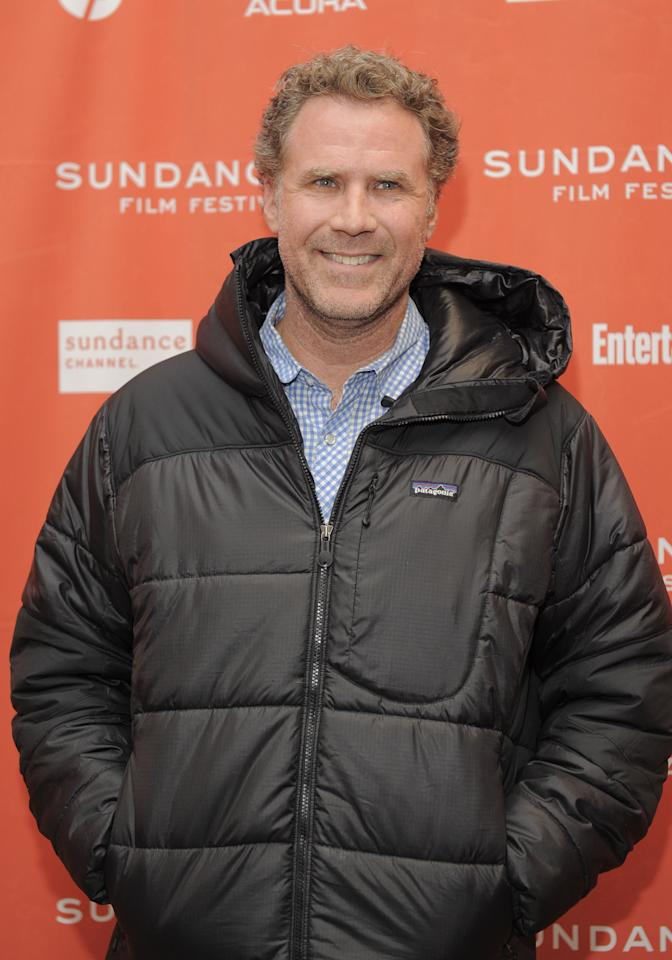 "PARK CITY, UT - JANUARY 23: Will Ferrell attends the ""Bachelorette"" premiere during the 2012 Sundance Film Festival held at Eccles Center Theatre on January 23, 2012 in Park City, Utah.  (Photo by Jemal Countess/Getty Images)"