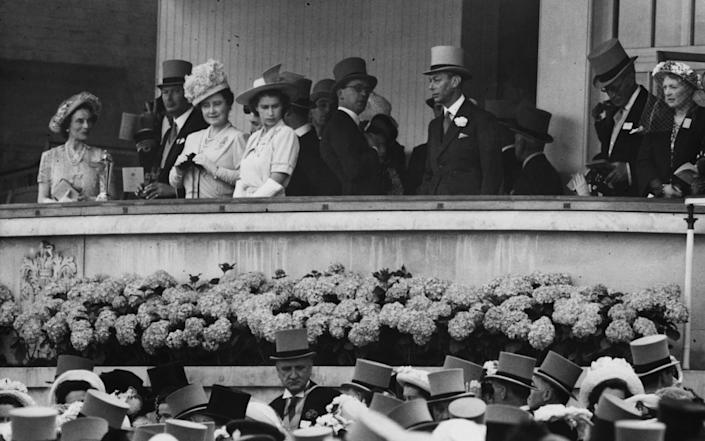 Royal Family at Royal Ascot in 1947 - Paul Popper/Popperfoto via Getty Images/Getty Images