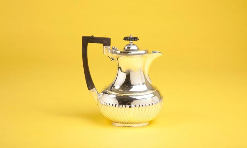 The Wolseley vintage silver-plated coffee pot