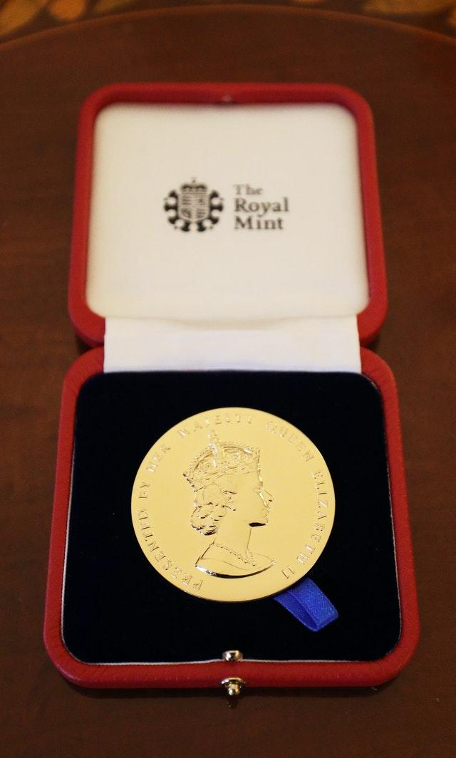 The Queen's Gold Medal for Poetry was first awarded in 1934. Jonathan Brady/PA Wire