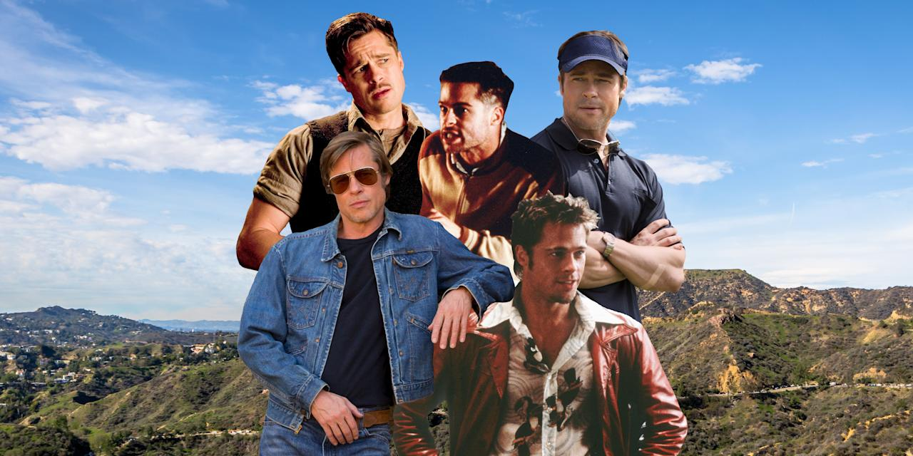 """<p>Between <em>Once Upon a Time in Hollywood</em> and <em>Ad Astra</em>, Brad Pitt is having a hell of a 2019. You could call it a Bradissance or you could just call it Brad Pitt being Brad Pitt. Looking back at the last three decades of movies, even Pitt's misses are still watchable just because you're seeing this extremely charming and attractive man on screen. But, given that <a href=""""https://www.nytimes.com/2019/09/04/movies/brad-pitt-ad-astra.html"""" target=""""_blank"""">he's cutting back on acting</a>, we're entering a terrifying new era with a lot less Pitt in the movies. That just means to get our full fill of this beautiful guy, we're going to have to go back and re-watch his best roles. And, to be honest, who doesn't want to do that?</p>"""