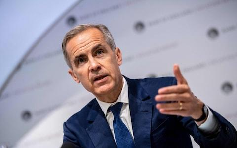 Mark Carney - Credit: CHRIS J RATCLIFFE/AFP