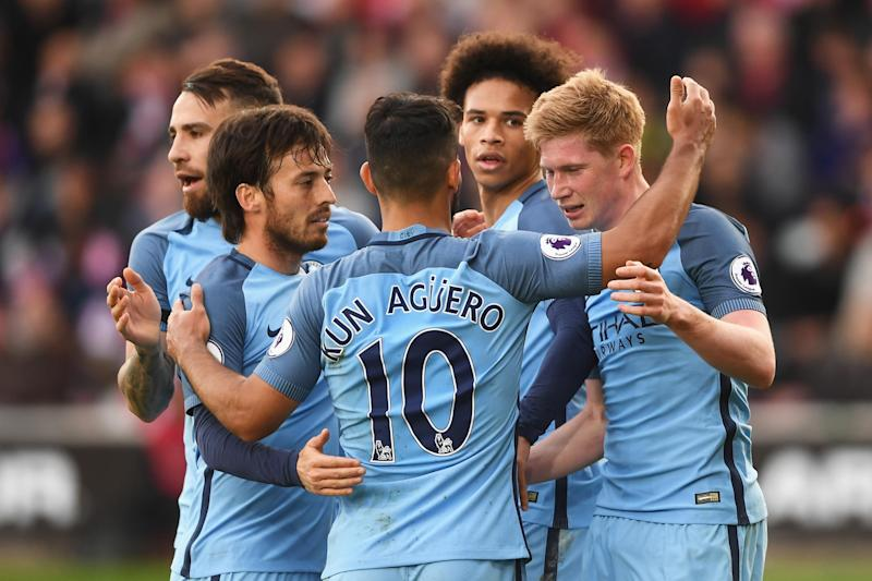 Three and easy: Manchester City cruised past Southampton at St. Mary's: Getty Images