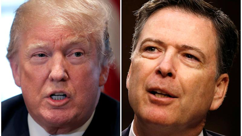 Trump Rages Against Comey Over Claims In New Book
