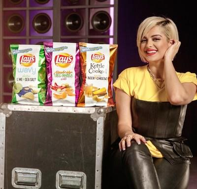 Lay's Partners With Bebe Rexha To Create Perfect Harmonies With