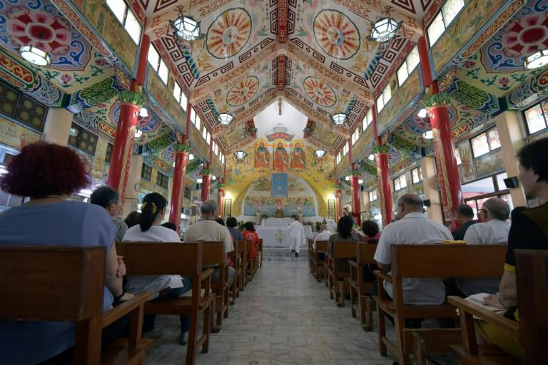 There are more than 1,000 churches across Taiwan but the Holy Spirit Church is particularly unique