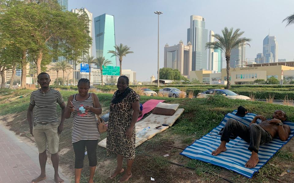 Migrant labourers have been made destitute by the coronavirus lockdown in Dubai