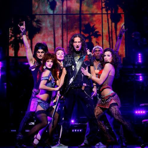 Rock of Ages Broadway Cast