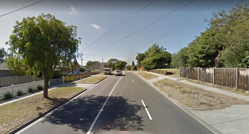 The man fell off the ute as it drove in Frankston, in Melbourne's southeast. Source: Google Maps/file
