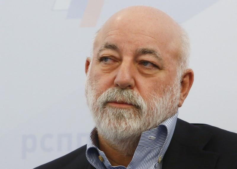 FILE PHOTO: Chairman of the Board of Directors of Renova Group, Vekselberg attends a session during the Week of Russian Business in Moscow