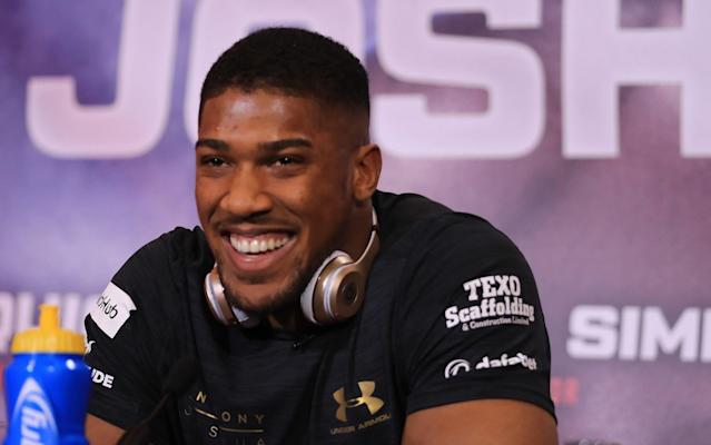 Anthony Joshua already has a whole stable of big-name sponsors - Getty Images Europe